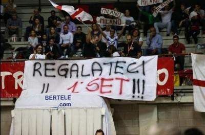 Milano fans