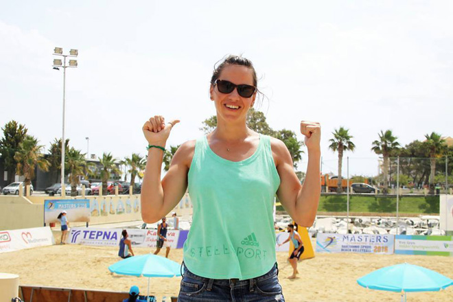 Τσιαρτσιάνη: «Ευλογημένη για όσα έχω ζήσει στην άμμο»!