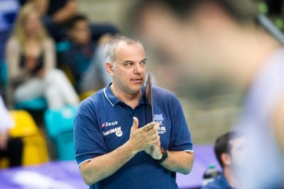 Sotirios Drikos  coach of Greece