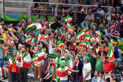 Iran supporters