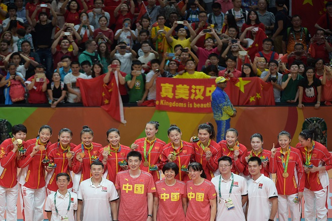 Chinese-team-gold-medal