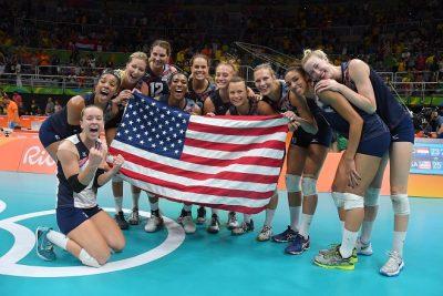 USA celebrate