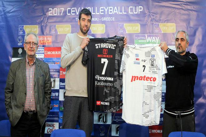 Στάροβιτς : «Χαρούμενος και έτοιμος για επιτυχίες με τον ΠΑΟΚ»