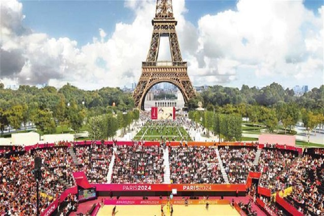 Paris_Beach_volleyball_olympics 2024