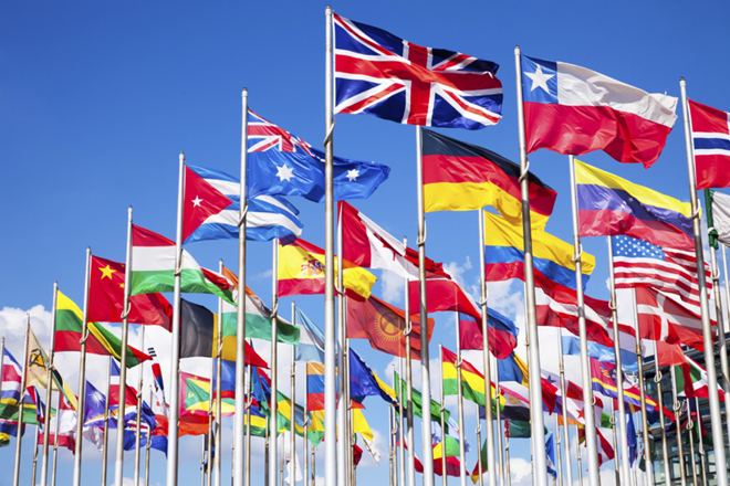 International Law Flags of Nations