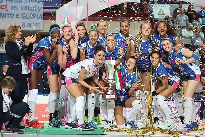 Υπερπρωταθλήτρια Ιταλίας η Βασιλαντωνάκη (fot-vid)