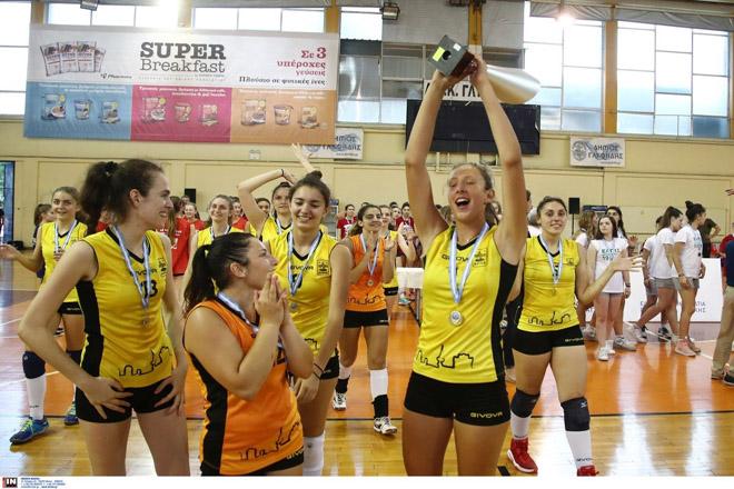 Πρωταθλητής ο Άρης, MVP η Μπάκα