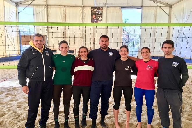 Έτοιμες για Χάγη οι Εθνικές ομάδες Beach Volley