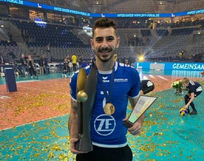 MVP Πρωτοψάλτης στο Volleyplanet: «Δεν με σταμάτησε καμία δύσκολη αγωνιστική κατάσταση»