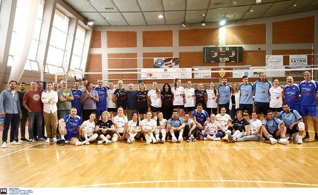 All Stars Volley: Τέσσερις γενιές βόλεϊ στην Πετρούπολη