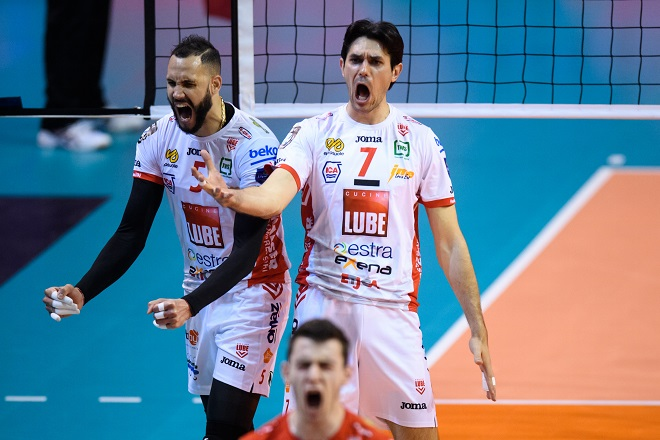 18.05.2019, Max Schmeling Halle, Berlin Volleyball, CEV Champions League Volley 2019 Super Finals, Zenit Kazan (RUS) vs. Cucine Lube Civitanova (ITA)    Foto: Conny Kurth / www.kurth-media.de