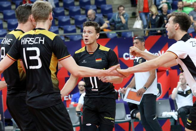 Antwerp : EuroVolley 2019  Germany   -  Slovakia : foto VDB / BART VANDENBROUCKE