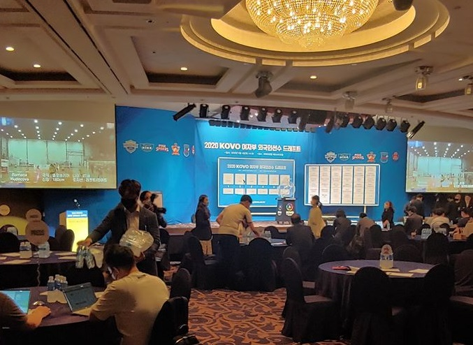 Τα' δωσε όλα στην Κορέα η Χαντάβα – Οι 6 εκλεκτές της KOVO League 2020 (fot)