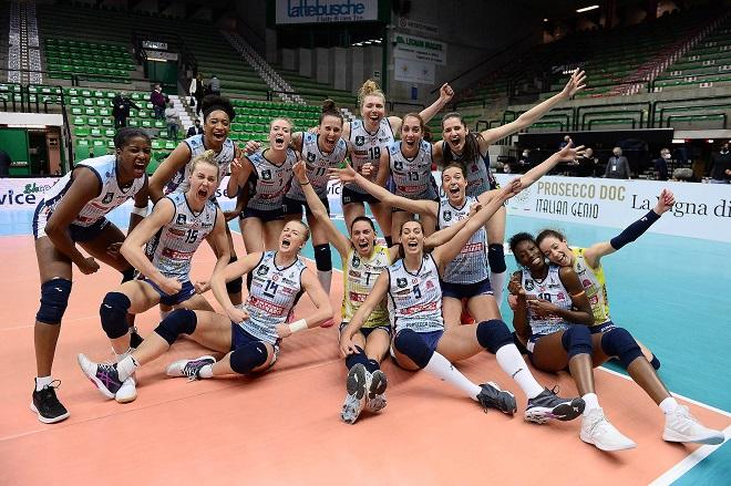 Champions League  γυναικών: Η Κονελιάνο πρώτη Superfinalist της Βερόνα