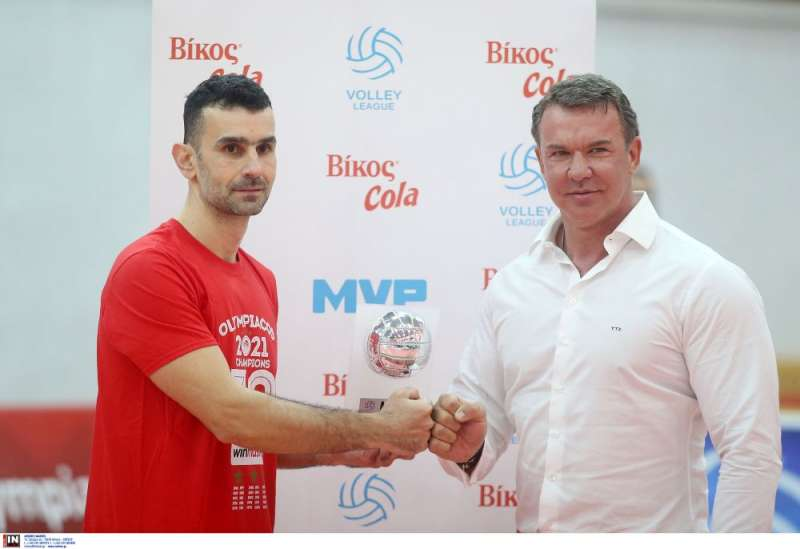 MVP του πρωταθλήματος ο Κώστας Στιβαχτής