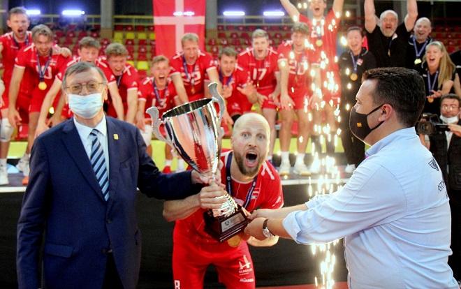 European Silver League: Κούπα και άνοδος για τη Δανία του Γιάκομπσεν