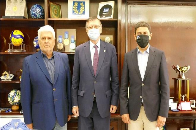 Στην Αθήνα ο Μπόρισιτς, η συνάντηση με Αυγενάκη και στόχο την ανάληψη μεγάλων διοργανώσεων