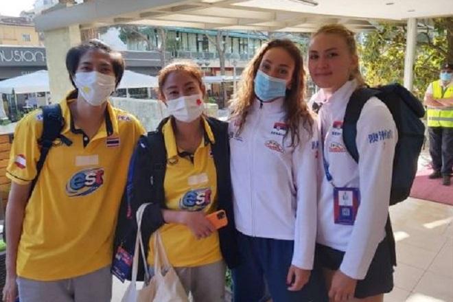 FIVB: Πρόστιμο και αποκλεισμός σε Σερβία για τ' «αμυγδαλωτά μάτια»