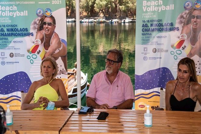 Η συνέντευξη Τύπου του Agios Nikolaos Championships