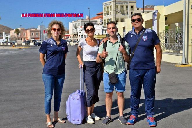 Στη Σύρο ο νέος προπονητής του Φοίνικα Φούλβιο Μπερτίνι