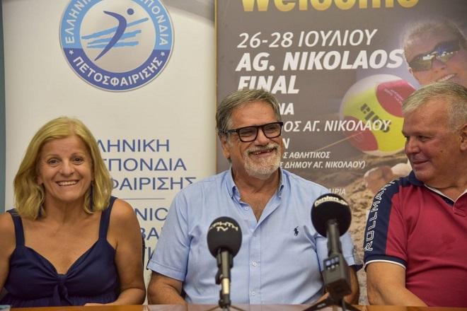 Δήμαρχος Αγ. Νικολάου: «Με τα τελικά του μπιτς βόλεϊ στέλνουμε μήνυμα επανεκκίνησης»
