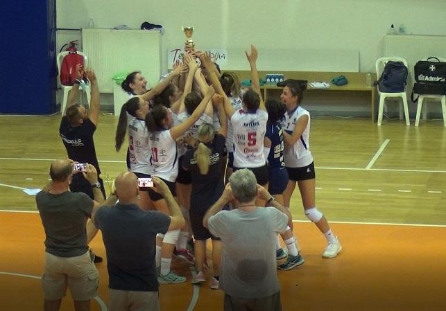 Πανελλήνιο κοριτσιών Κ18: Πρωταθλήτριες οι κορασίδες του ΑΟ Μαρκοπούλου